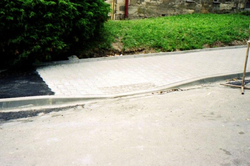 Kanalizace - ul. Mařákova, Svitavy