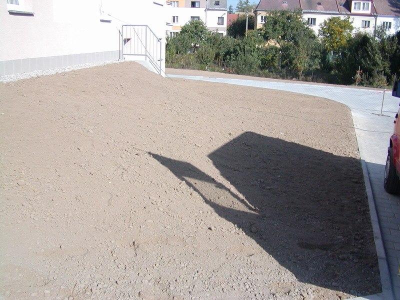 Zemní práce - Městská vila, Svitavy