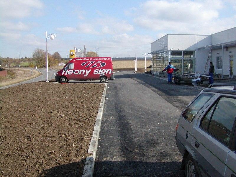Zemní práce - Renault Svitavy