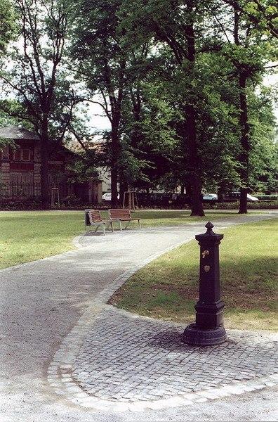 Přírodní celky - Regenerace parku Jana Palacha, Svitavy