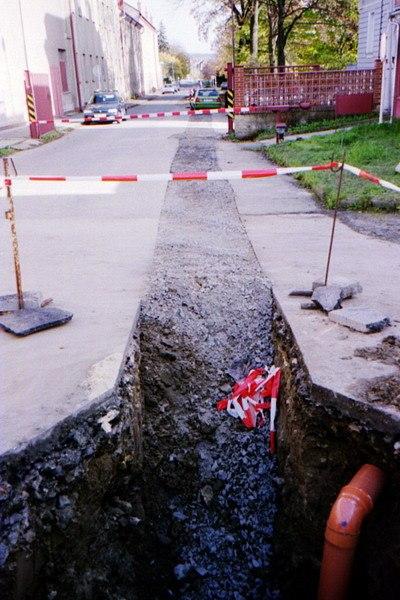 Kanalizace - ul. Dimitrovova, Svitavy